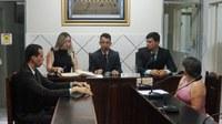 Vereadores em Sessão, na Câmara Municipal